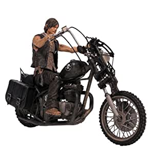 McFarlane Toys 14539 - The Walking Dead TV Daryl Dixon with Chopper Deluxe Box