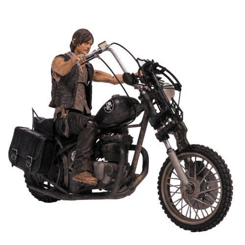 McFarlane Toys 14539 - The Walking Dead TV Daryl Dixon with Chopper Deluxe Box (Dead Walking Deluxe)