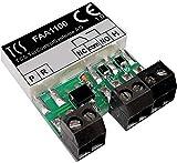 TCS Tür Control EB-Türöffner-Relais FAA1100-0600 Zusatzgerät für Türkommunikation 4035138013253