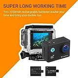Action Cam, icefox 2K 16MP Unterwasserkamera,...Vergleich