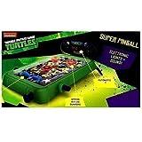 Teenage Mutant Ninja Turtles ELEKTRONISCH TISCH PINBALL SPIEL MACHINE TMNT SPIELZEUG