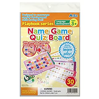 Artec Playbook (Age 3+) - Name Game - Language Development activity book by Artec