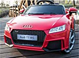 Indalchess Auto für Kinder TT RS Plus 12V, rot, Full Option, RC-Fernbedienung