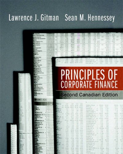 Principles of Corporate Finance, Second Canadian Edition