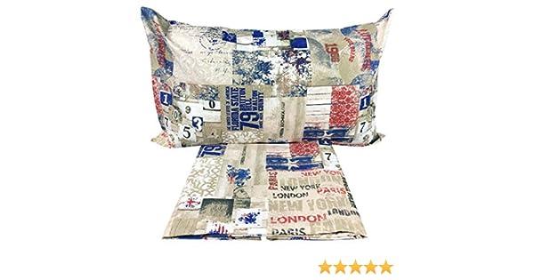 Copripiumino Londra Singolo.155x200 Tex Family Copripiumino Bandiera Style Londra Singolo 1