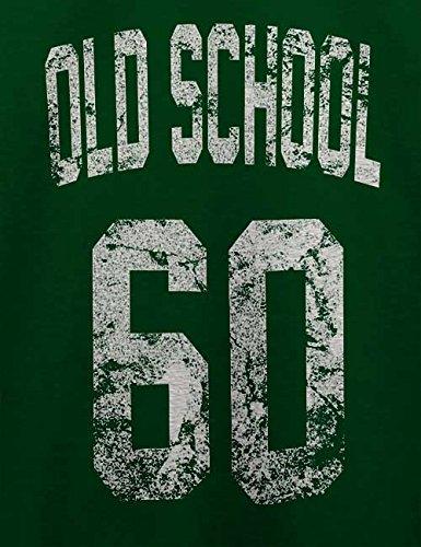 Oldschool 1960 T-Shirt Dunkel Grün
