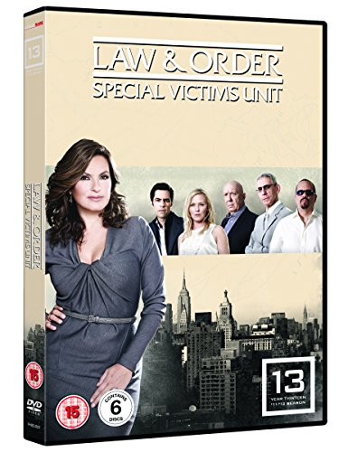 Law And Order Special Victims Unit - Series 13 (6 DVDs)
