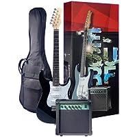 Rocket EGPACKBK Kit de démarrage Guitare électrique Noir