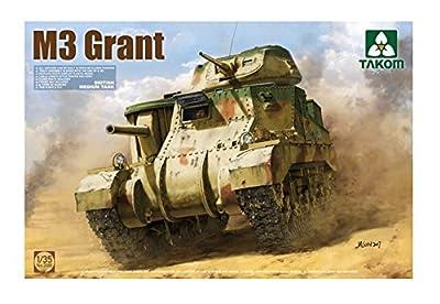 Takom TAK-2086 Modellbausatz British Mediuim Panzer M3 Grant von Takom