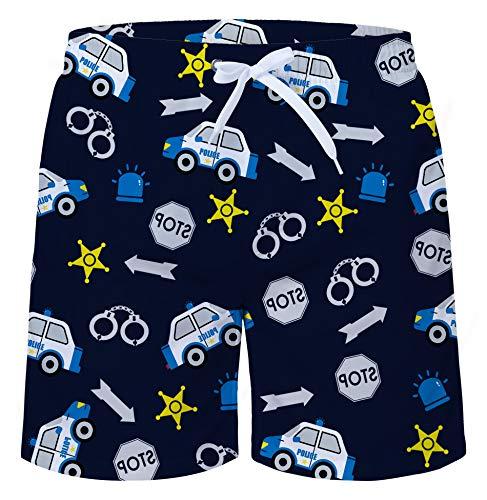 Fanient Jungen Badehose Cartoon Quick Dry Badeshorts Elastische Taille Kordelzug Hosen -