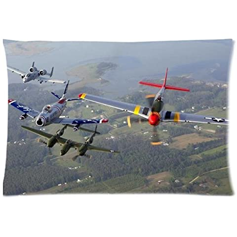 Arctic Thunder Air Show Pillowcase/Copricuscini e federe Custom Pillow case/Copricuscini