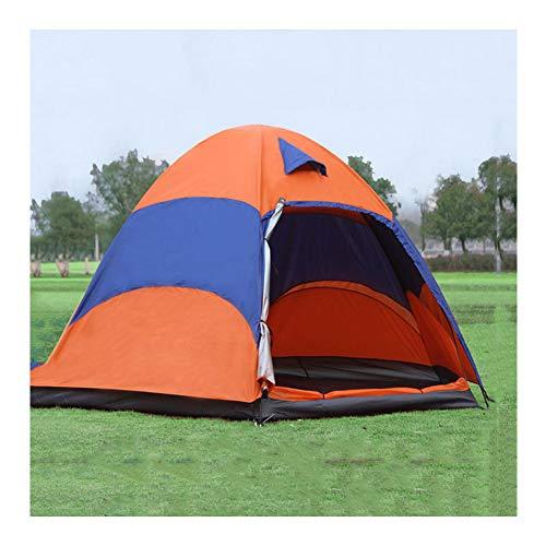 ERLIANG Mehrpersonen-Zelt im Freien Zweischichtiges wasserdichtes Outdoor-Campingzelt Touristisches Zelt