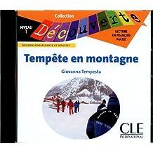 Tempête en montagne - Niveau 1 - Lecture Découverte - CD