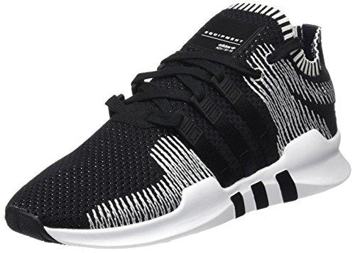 adidas Herren EQT Support ADV Primeknit Sneaker Schwarz Core Black/Running White By9390, 44 EU