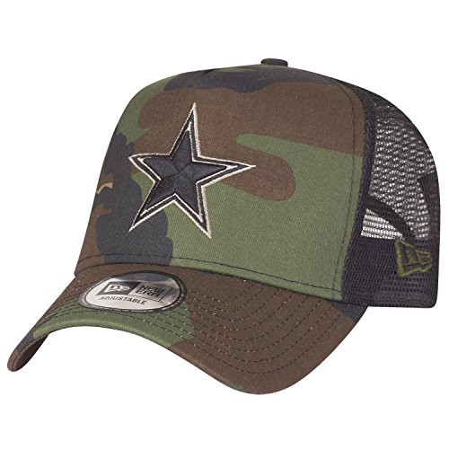 New Era Adjustable Trucker Cap - Dallas Cowboys Wood camo - Back Adjustable Trucker Hut