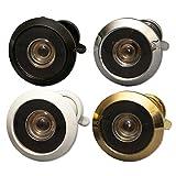 Visor de Puerta mirilla (aka mirilla o) para puertas 20?35mm o 35?55mm de grosor que il a un ángulo 160° y necesita un 12mm agujero, blanco
