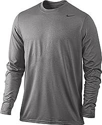 Nike 377780 Legend Dri-fit Tee Long Sleeve - Grey