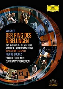 Richard Wagner: Der Ring des Nibelungen (l'anneau du Nibelung) - Coffret 8 DVD - incl. Making Of
