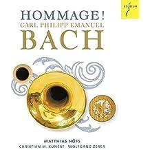Bach, C-P-E : Hommage ! Sonates Arrangées pour Trompette & Basse Continue