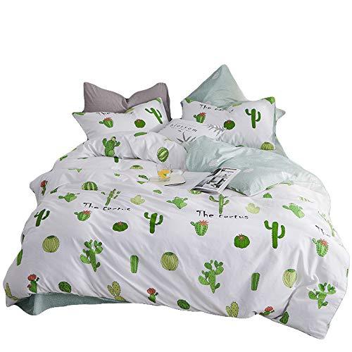 Anjos Pastoral Floral Style Betten Set 4Bettbezug Bettlaken Kissenbezüge Queen 20182153