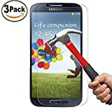 Vada-Tec | 3x bruchsicheres Panzerglas für Samsung Galaxy S4 | Schutzfolie aus 9H Echtglas | Schutzglas zur Vermeidung von Displayschaden | blasenfreie Anbringung | 3 Stück