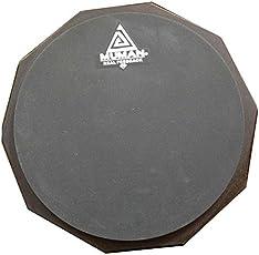 Muman 211542 12-inch Practice Pad (Grey)