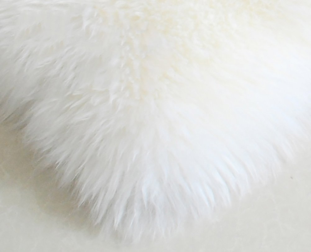 Faux lammfell schaffell teppich hlzdh kunstfell dekofell in super