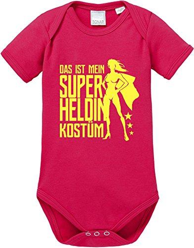 EZYshirt Das ist Mein Superheldin Kostüm Baby Body Shortsleeve