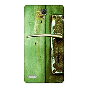 Special Classic Door Green Back Case Cover for Redmi Note Prime