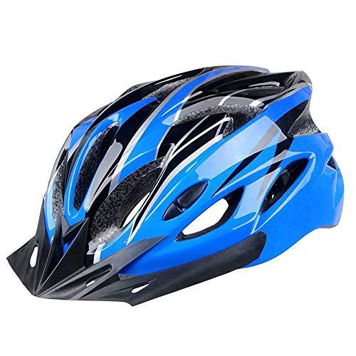Fliyeong Kind Unisex Helm Fahrradhelm Fahrrad Radfahren 58cm - 62cm Dunkelblau