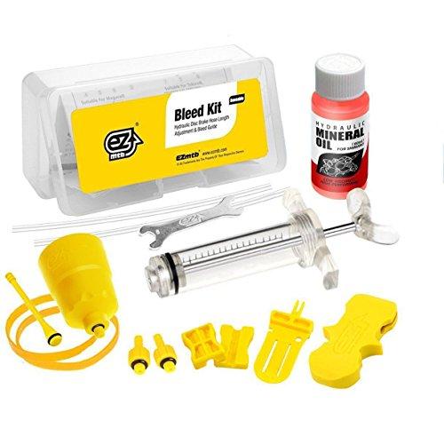 Entlüftungskit Service Kit für Shimano Hydraulische Scheibenbremsen – Inkl. Mineralöl (Entlüftungskit Shimano)