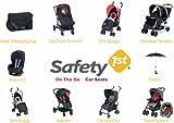 Safety 1st 18699600 – Day Dream Fußsack, passt universell an die meisten Kinderwagen, schwarz - 6