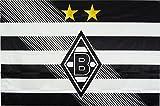 Unbekannt VFL Borussia Mönchengladbach Herren Fohlenelf-Artikel-Stockfahne Home-150 x 100 cm Flagge, Mehrfarbig