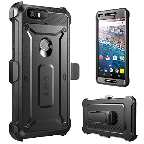 huge selection of 59419 8ebc7 Nexus 6P Case, SUPCASE [Heavy Duty] Belt Clip Holster Case for Google Nexus  6P (2015 Release) [Unicorn Beetle PRO Series] Full-body Rugged Hybrid ...