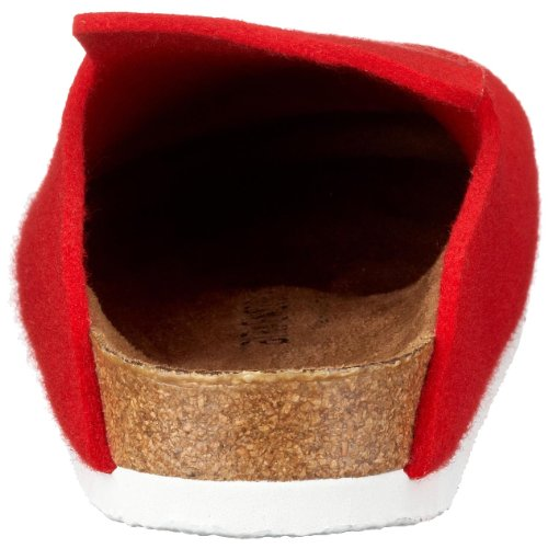 Birkenstock Davos, Unisex - Erwachsene Clogs & Pantoletten aus Birko-Filz Rot