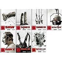 Saw Teil 1-7 Komplett / DVD Set White Editions Teil1+2+3+4+5+6+7 / Mit neuen Artworks und Bonusmaterial
