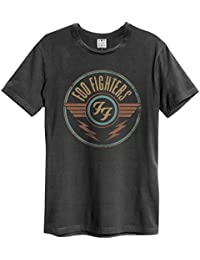 Amplified Foo Fighters-FF Air, Camiseta para Hombre