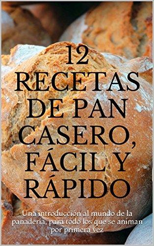 12 recetas de pan casero, fácil y rápido: Una introducción al mundo de la