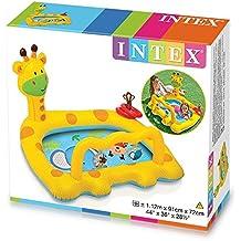 Intex - Piscina bebe hinchable Intex jirafa 112x91x72 cm - 1/3 años - 57105NP