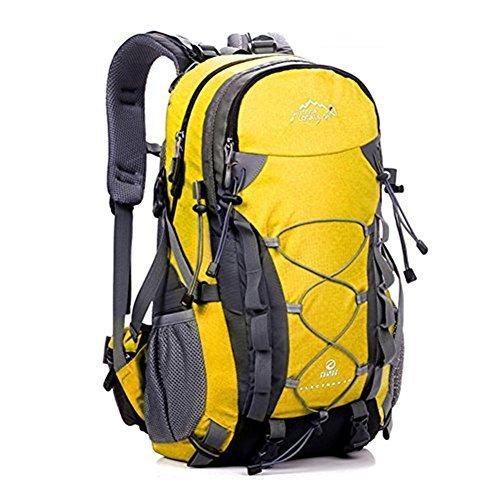 ERWAA 40L Mochilas de Senderismo Deportes al Aire Libre Multifunción Bolsa Impermeable Ciclismo Montaña Excursionismo Alpinismo Trekking Viajes Campamento Para Unisex