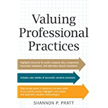 Valuing Professional Practices (Business Books)