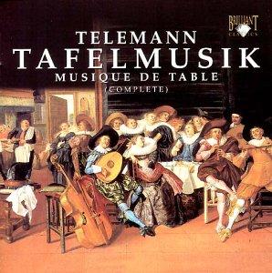 Teleman: Tafelmusik (Complete) Walletbox - Belden-box