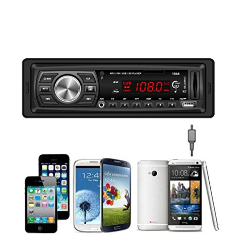 Internet En el tablero de coches de audio estéreo Bluetooth Unidad Cabeza de MP3 / USB / SD / MMC [Classe de Eficiencia Energética A