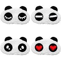 Yxaomite Panda Augen Schlafmaske, Schlafmaske Für Die Reise und Zuhause Geeignet (4 Stück) preisvergleich bei billige-tabletten.eu