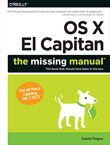 OS X El Capitan: The Missing Manual por David Pogue