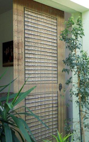 "Bambustürvorhang Bambusvorhang Türvorhang ""Veranda-Tür"" ca. 90x200cm"