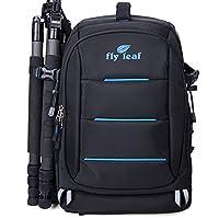 FLYLEAF Waterproof Camera Backpack SLR DSLR Travel Rucksack laptop Bag School Bag Satchel