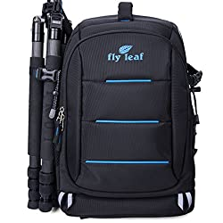 Flyleaf Waterproof Camera Backpack Slr Dslr Travel Rucksack Laptop Bag School Bag Satchel