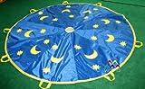 Schwungtuch, Tuch Spiel Kindergarten Schule Turnen, Schwungtücher, ø 3 m