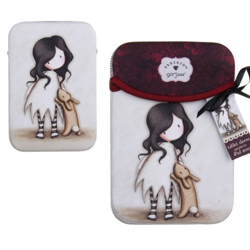 iPad Sleeve Mini - I Love You Little Rabbit - Les Gorjuss de Santoro